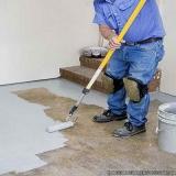 empresa que faz impermeabilização de piso de concreto Jardim Japão