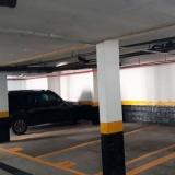 pintura de garagem de prédio