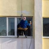 pintura fachada de prédio residencial
