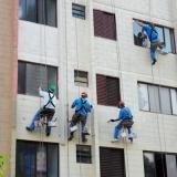 pintura em prédio Brooklin