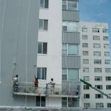 pintura fachada condomínio Mandaqui